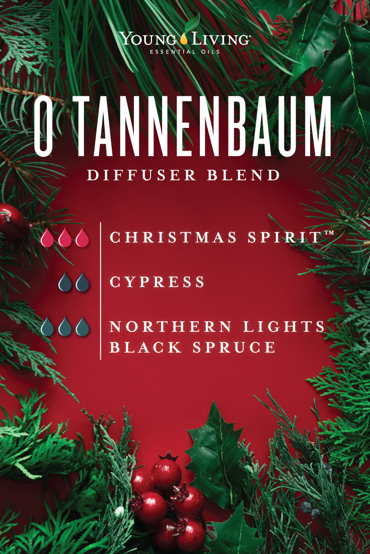 O Tannenbaum diffuser blend