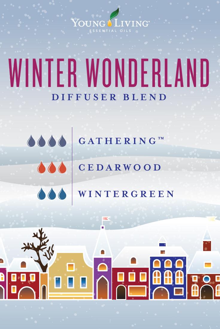 Winter Wonderland diffuser blend
