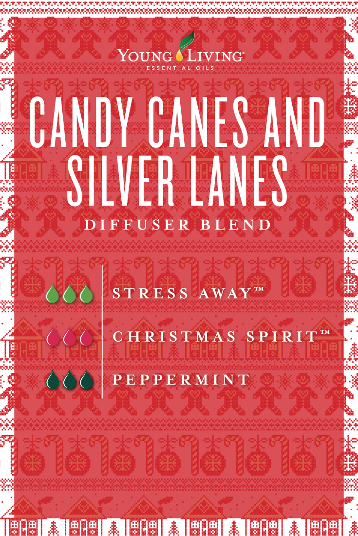Candy Canes and Silver Lanes diffuser blend