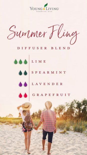 summer fling diffuser blend