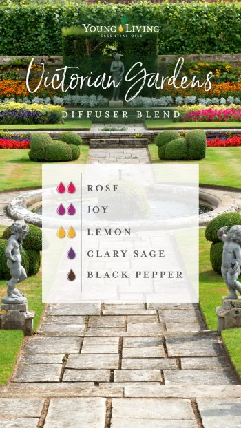 Victorian Garden diffuser blend