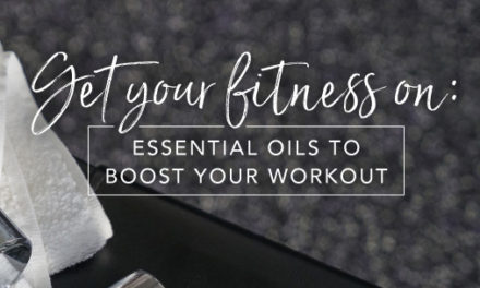 Essential oils to boost your workout