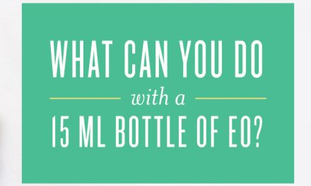 What Can You Do with a 15-ml Bottle of EO?