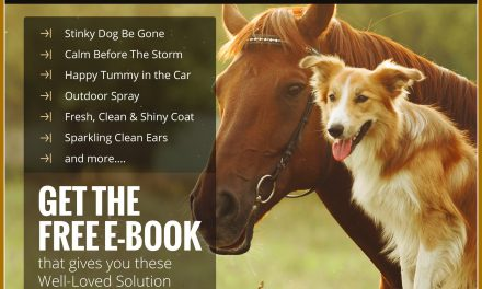 Treat your animals right! Get my Free top Tips now!