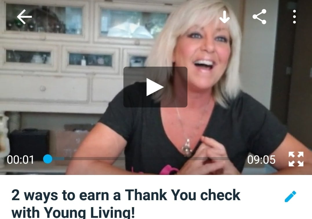 Did you know you can earn a Thank-You check from Young Living? Without really doing anything?