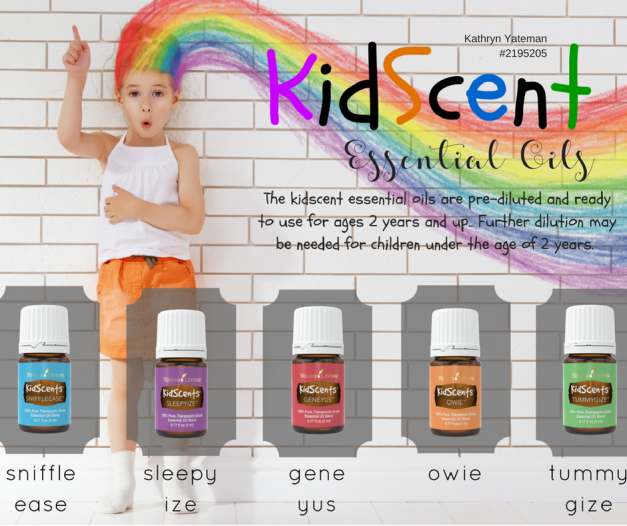 5 tips to using essential oils around your little ones