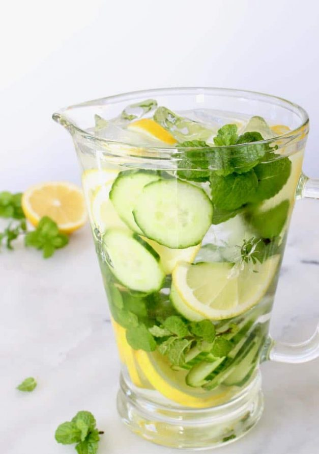 Detox and Flush!  psst…It's also refreshing!