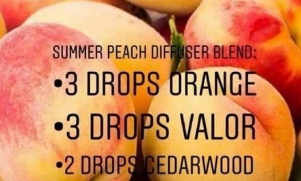 Summer Peach Diffuser Blend! It doesn't get any summery than this!