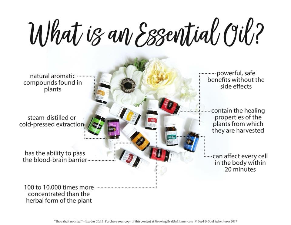 So what exactly is an essential oil?