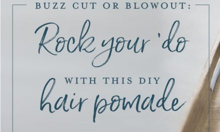 Rock your 'do with this DIY hair pomade