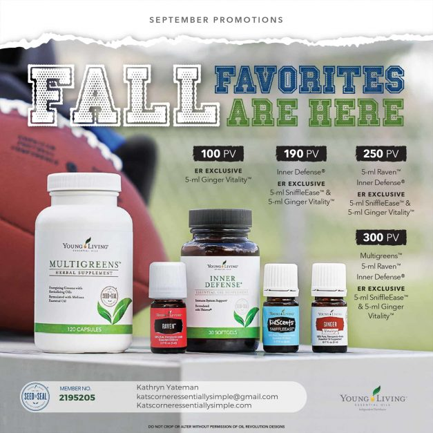 Check out the September promos!  And who better to tell you about them than Danette Goodyear!