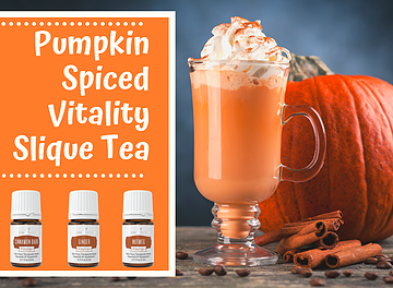 It's time!!  Pumpkin Spiced Slique Tea!  psstt! It's actually good for you!
