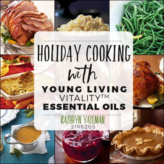 Holiday Recipes with YL Vitality Oils..you'll never use dried herbs again!
