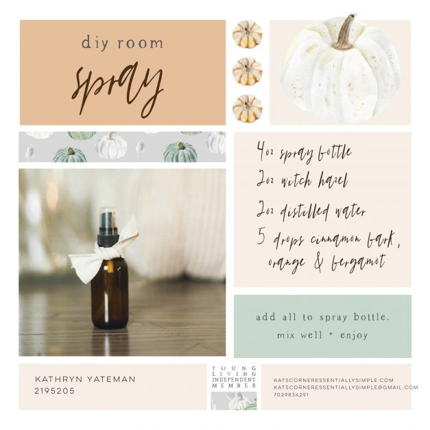 Add a touch of spice to your space with this easy DIY room spray!