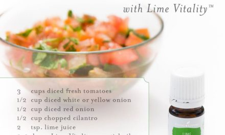 Just the right touch of Lime for the best Pico De Gallo!
