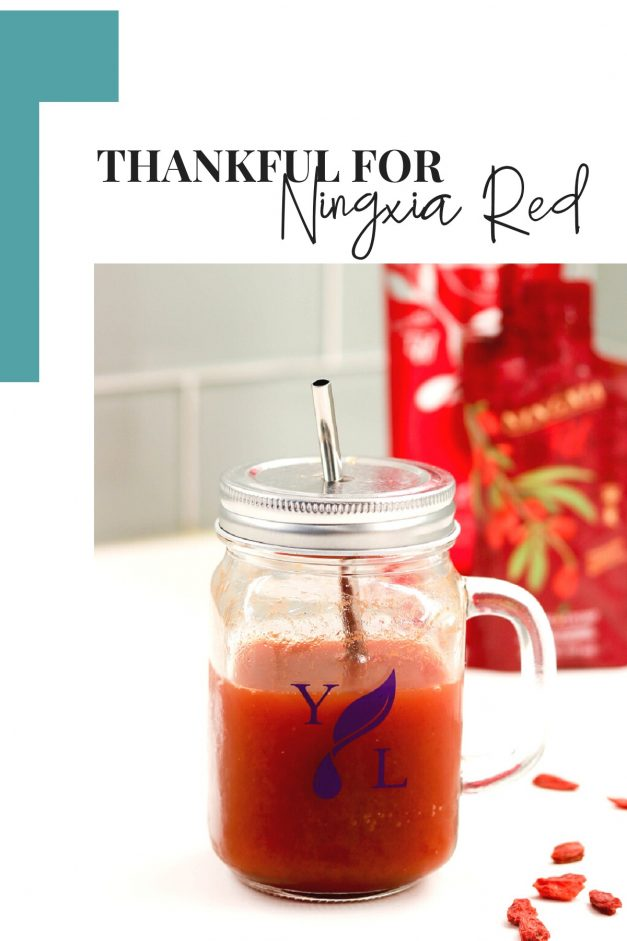 Thankful For NingXia Red!