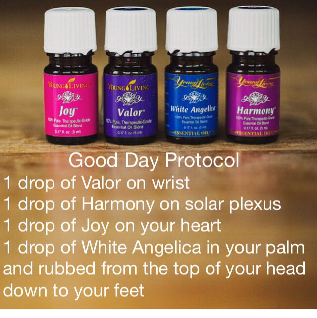 Everybody can have a Great Day!!!  These 4 little bottles can help!