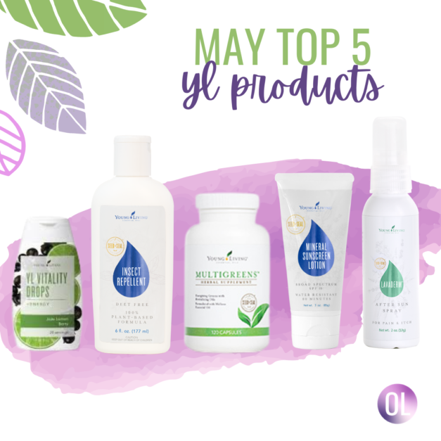 Top Five Products for May!