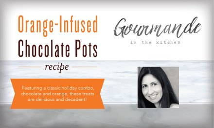 Orange-Infused Chocolate Pots Recipe