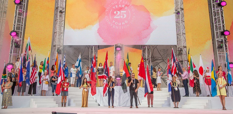 Young Living Essential Oils Parade of Nations, Philippines, Europe, South Africa