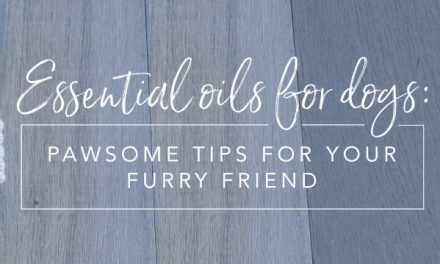 Essential oils for dogs