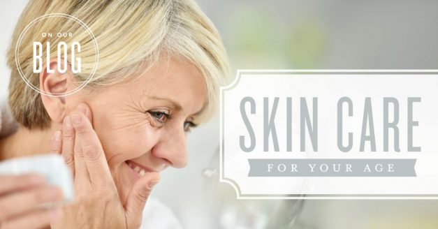Skin care for your age