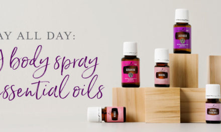 Slay all day: DIY body spray with essential oils