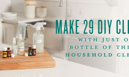Make 29 DIY cleaners with just one bottle of Thieves Household Cleaner