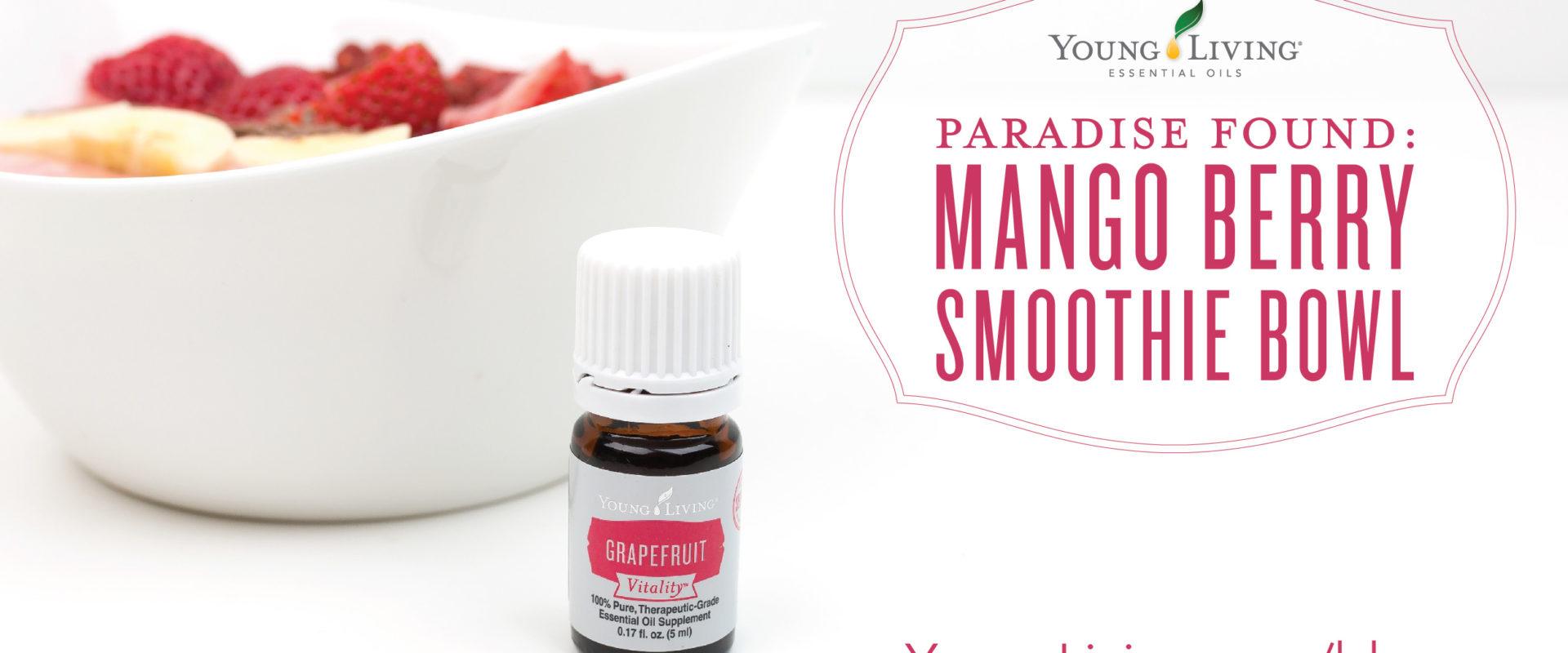 Mango Berry Smoothie Bowls