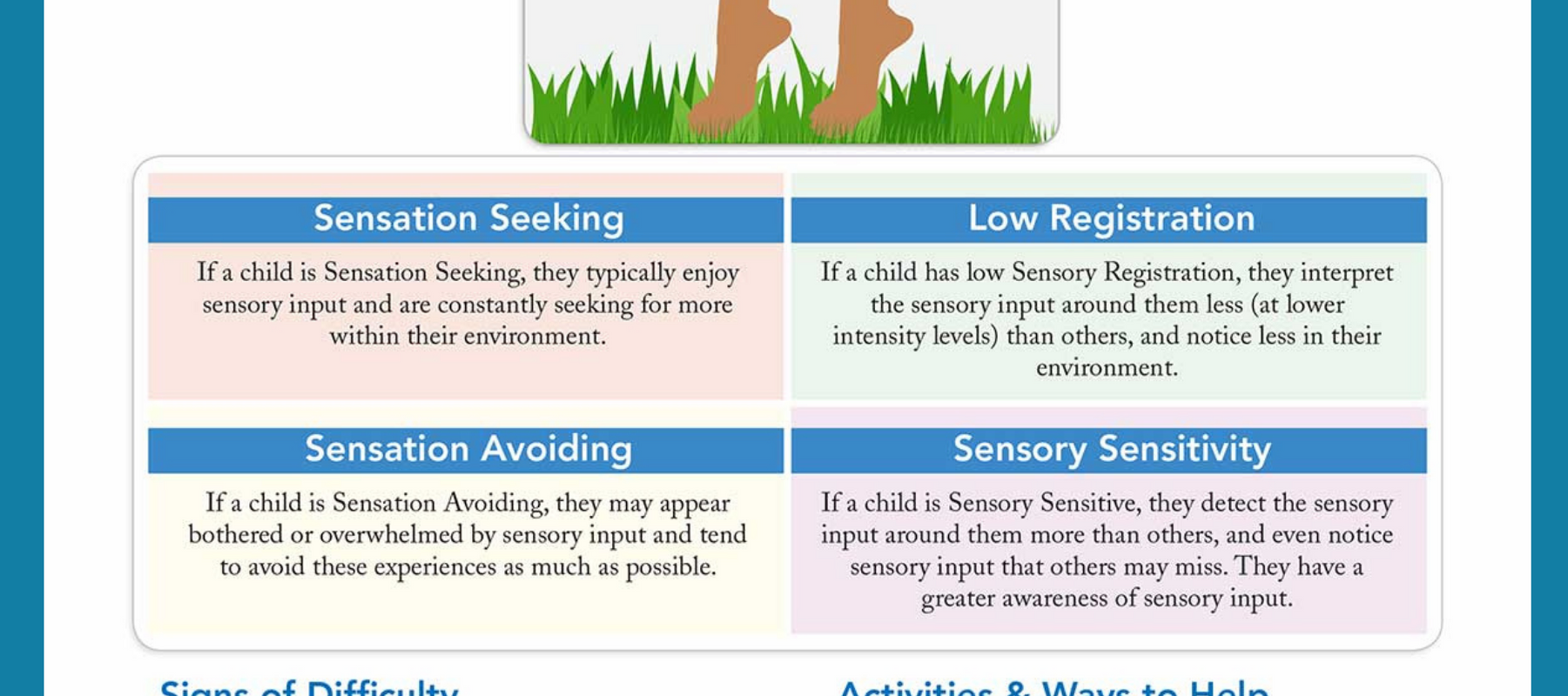 OT Education: Tactile System Sensory Processing