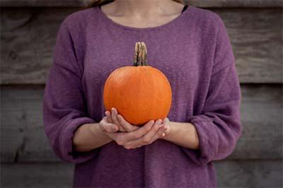 Pumpkin's high fiber it will help you feel full longer