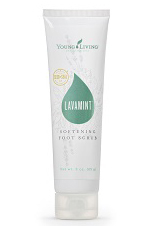 Young Living's NEW Lavamint Softening Foot Scrub
