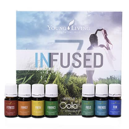 Young Living's Infused 7 Essential Oils