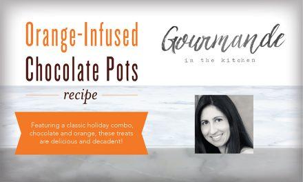 Orange-Infused Chocolate Pots Recipe