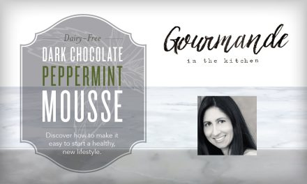 Dairy-Free Dark Chocolate Peppermint Mousse