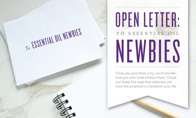 Open letter: To essential oil newbies