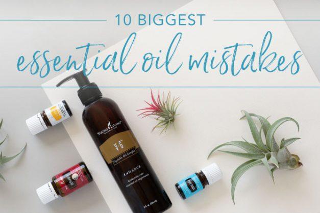 10 biggest essential oil mistakes